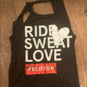 Peloton Ride Sweat Love Tank -XS